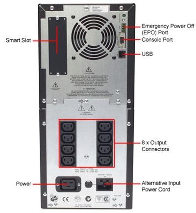 APCUPS电源的技术参数